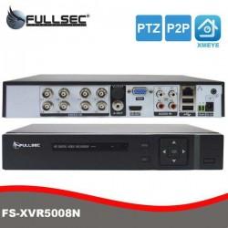 DVR Híbrido XVR 5 em 1 de 8 Canais 1080N FS-XVR5008N